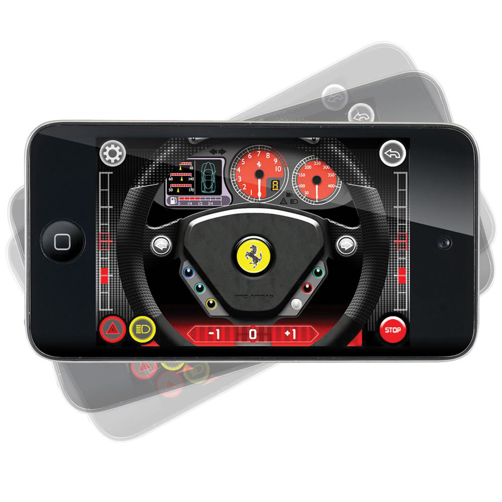The iPhone Controlled Enzo Ferrari 2