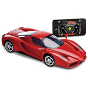 iPhone Remote Controlled Enzo Ferrari.