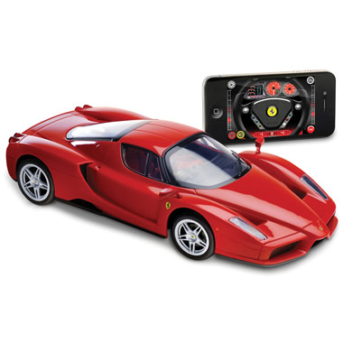 The iPhone Controlled Enzo Ferrari