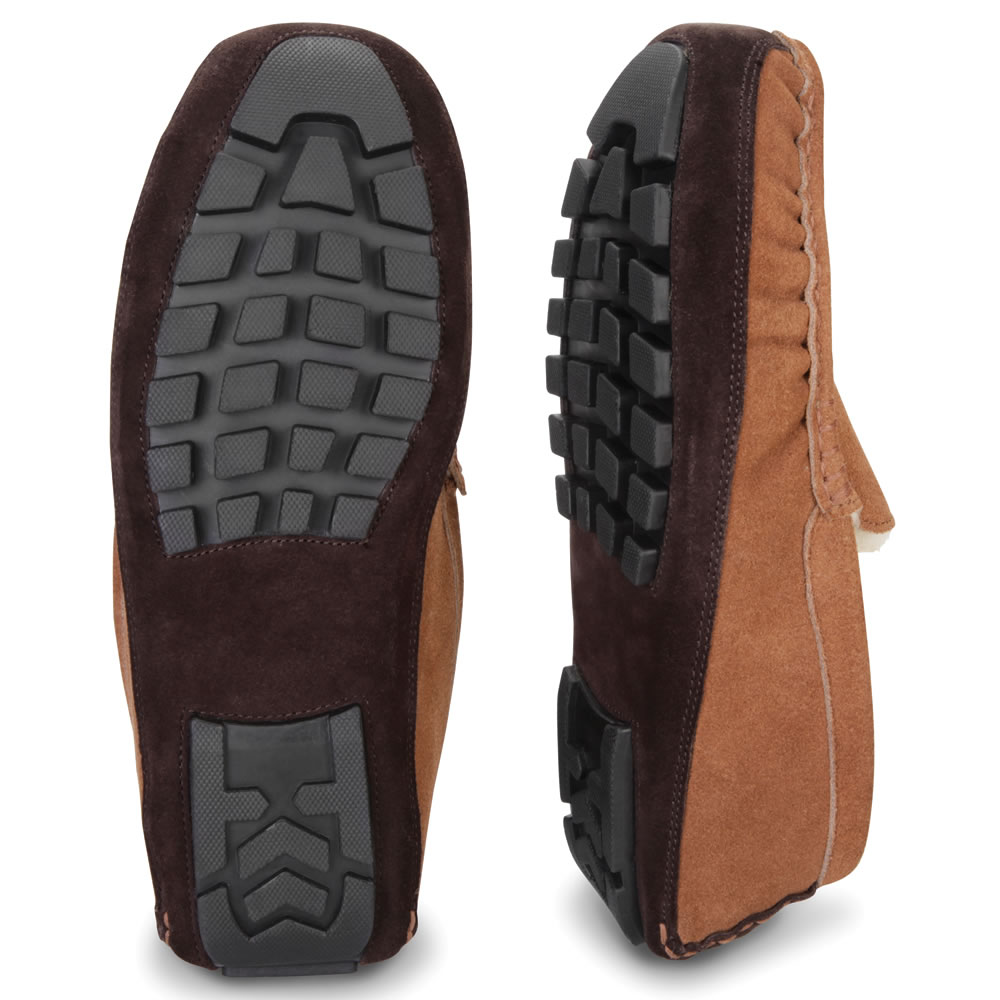 The Gentlemen's Genuine Shearling Driving Moccasins 2