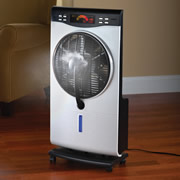 The Evaporative Mist Indoor Fan.