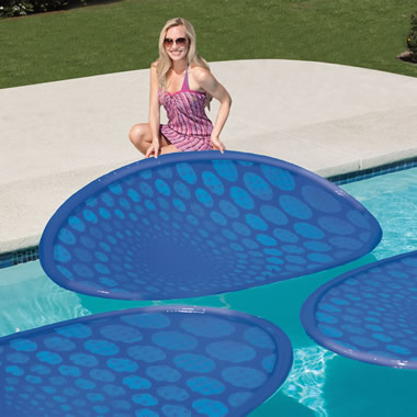The Solar Pool Heating Rings.