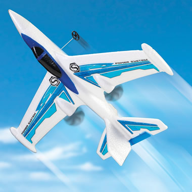 The Remote Controlled Aerobatic Plane.