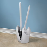 The Discreet Toilet Brush And Plunger.