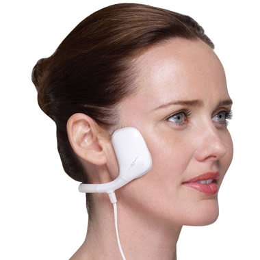 The Hands Free Facial Muscle Toner.