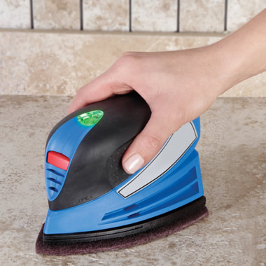 The Handheld Rechargeable Power Scrubber.