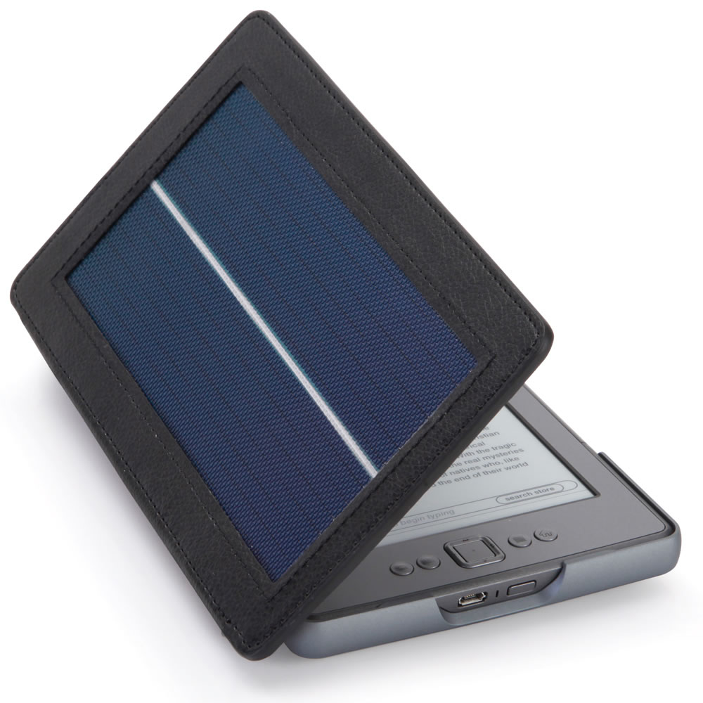 The Solar Lighted Kindle 4 Case2