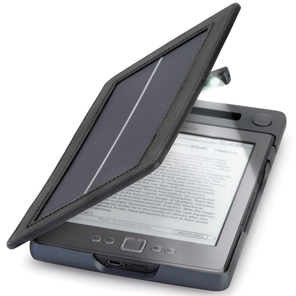 The Solar Lighted Kindle 4 Case3