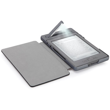 The Solar Lighted Kindle 4 Case.