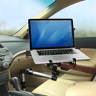The Foldaway Automobile Laptop Mount.