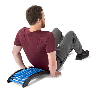 The Back Stretching Pain Reliever.