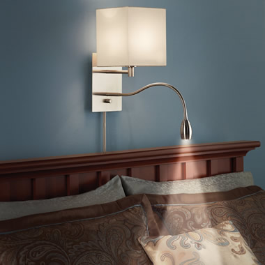 The Brightness Zooming Bedside Lamp.