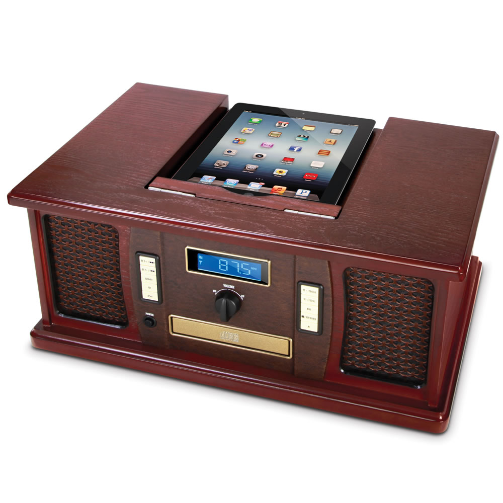 The iPad Classic Cabinet Music Center 2