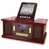 The iPad Classic Cabinet Music Center.