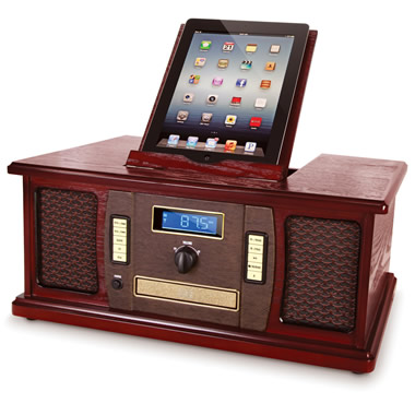 The iPad Classic Cabinet Music Center.