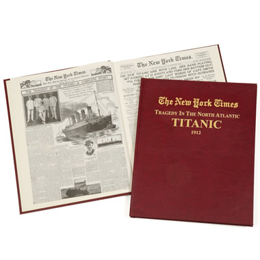 The Original New York Times Articles Of The Titanic.