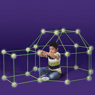 The Glow In The Dark Fort Frame Kit.