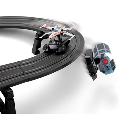 The Star Wars Battling Fighters Set.