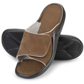 The Walk On Air Adjustable Slides.