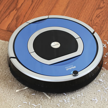 The Dirt Detecting Radio Frequency Roomba 790.