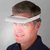 The Light Therapy Visor.