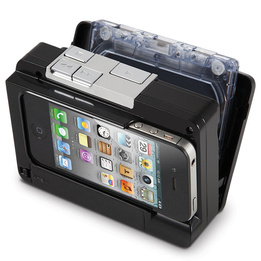 The Cassette To iPod Converter by Hammacher Schlemmer