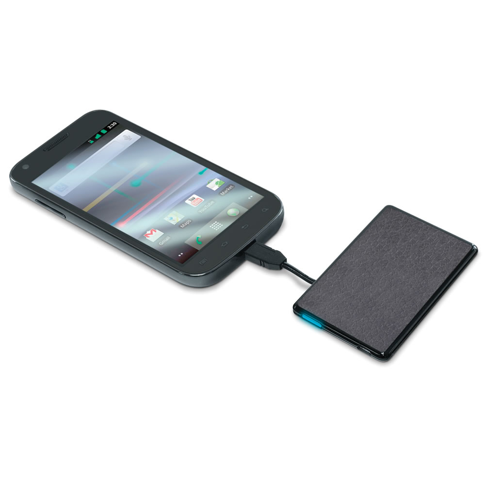 The Credit Card Sized Cell Phone Backup Battery 2