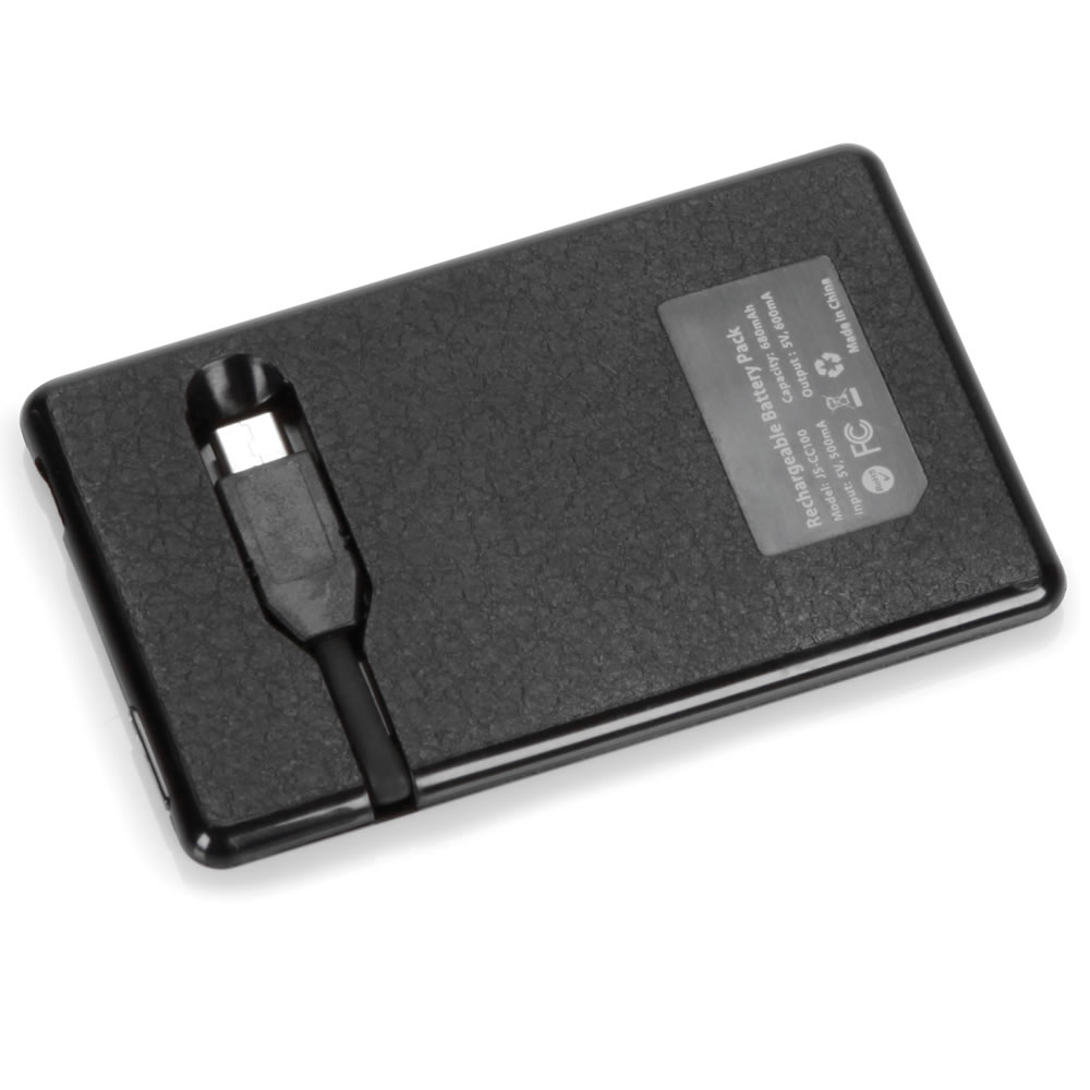 The Credit Card Sized Cell Phone Backup Battery 3