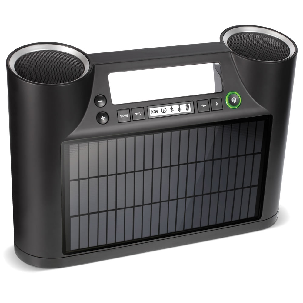 The Solar Powered Wireless Speaker3