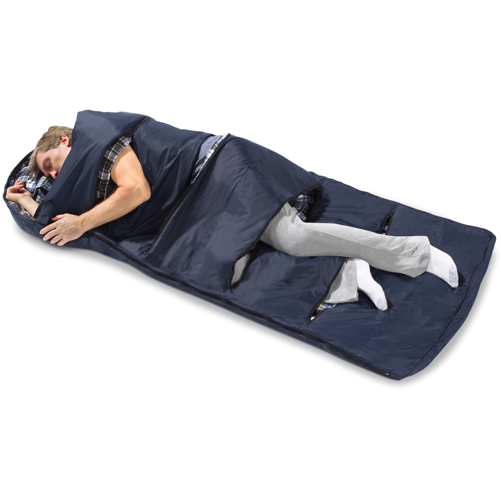 The Zippered Vents Sleeping Bag2