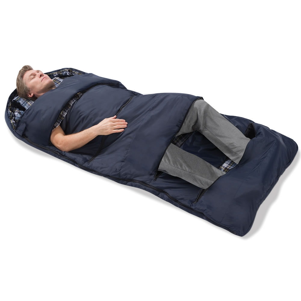The Zippered Vents Sleeping Bag1