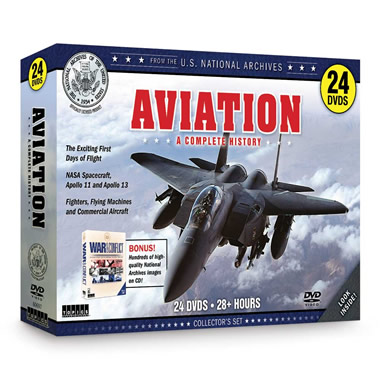 The National Archives History of Aviation DVDs