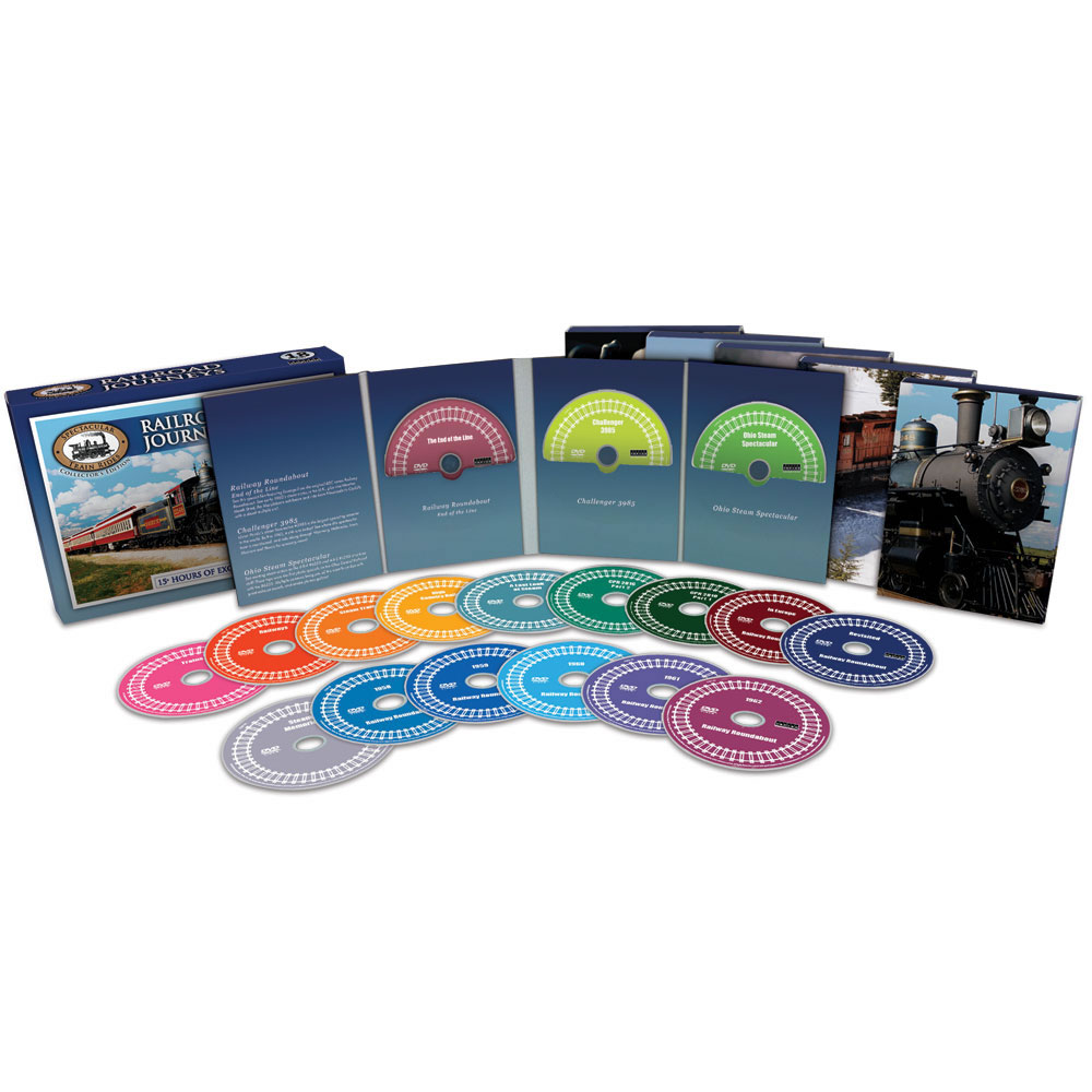 The Railroad Journeys DVD Collection 2