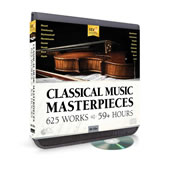 The 625 Classical Music Masterpieces CD Compendium.