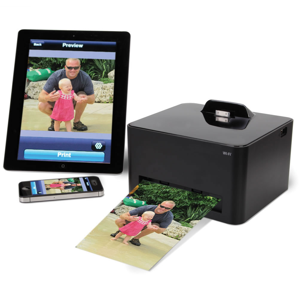 Wireless iPhone 5 Photo Printer