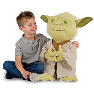 The Talking Plush Yoda
