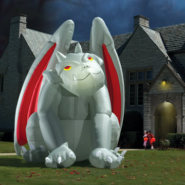 The Gargantuan Inflatable Gargoyle.
