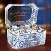 he Thomas Kinkade Crystal Music Box.