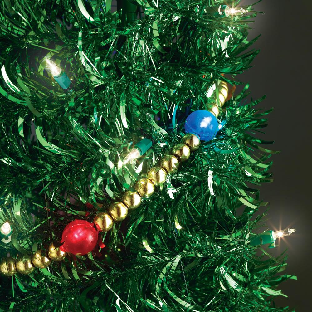 The 6' Prelit Pop-Up Tinsel Tree2