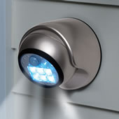 The 2X Brighter Cordless Motion Activated Light.