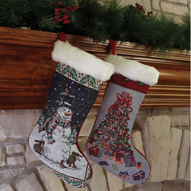 The Fiber Optic Christmas Stocking