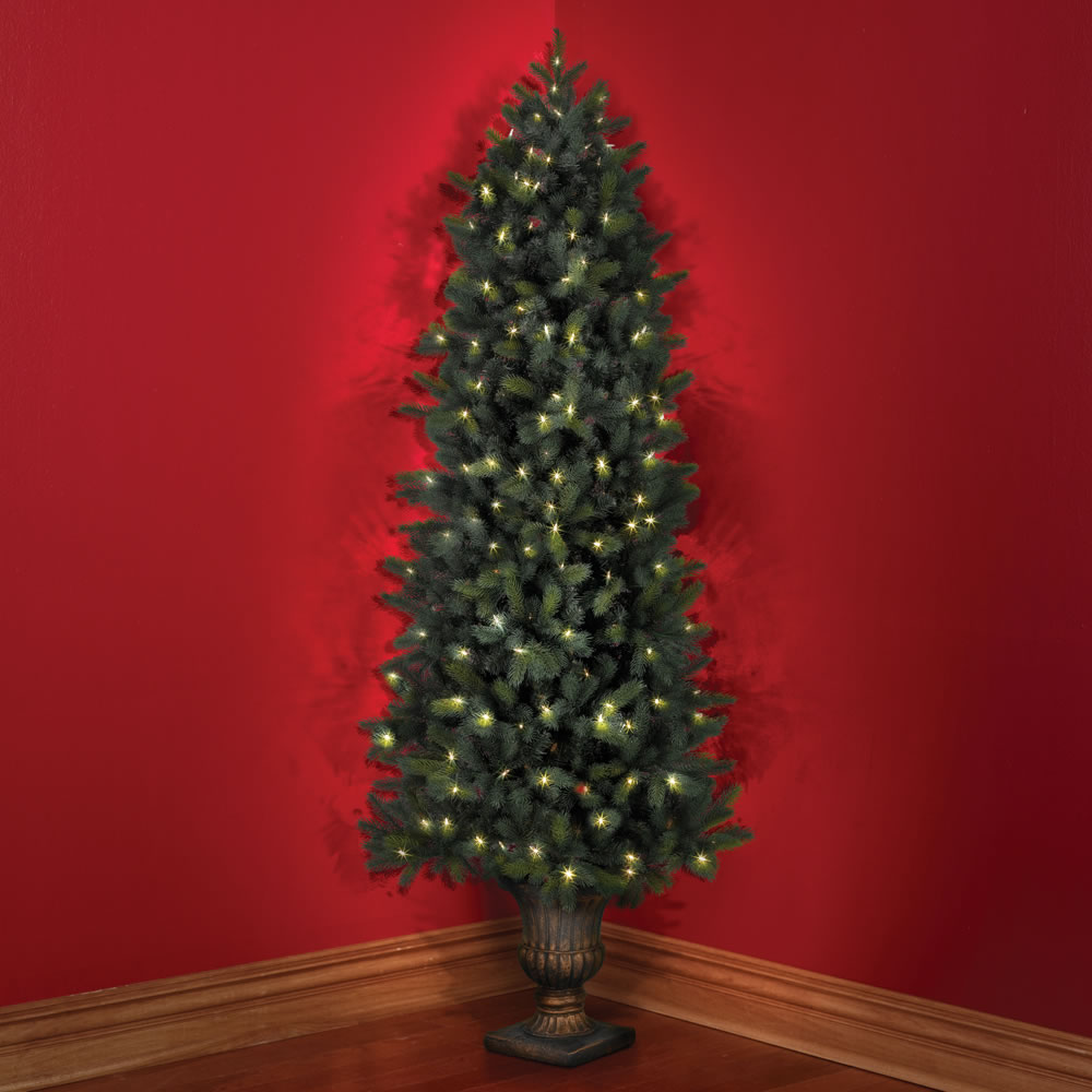 Nyc Christmas Tree Delivery: The Cordless Prelit Douglas Fir Corner Tree (7
