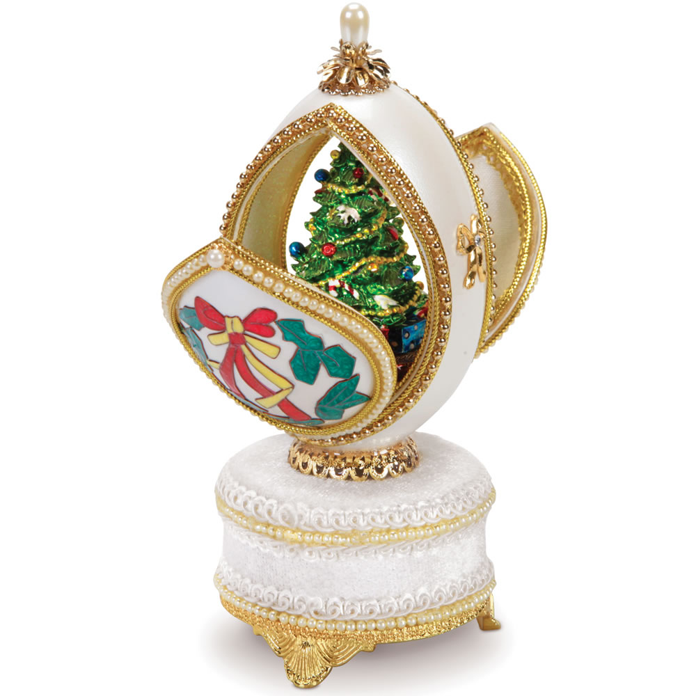 The Authentic Goose Egg Tannenbaum Music Box 2