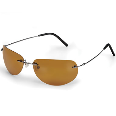 The Clarity Enhancing Sunglasses (Titanium Frame).