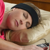 The Sleep Assisting Music Headband.
