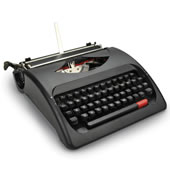 The Wordsmith's Manual Typewriter.