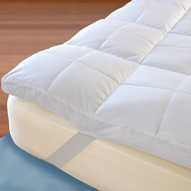 The Temperature Regulating Mattress Topper (King).