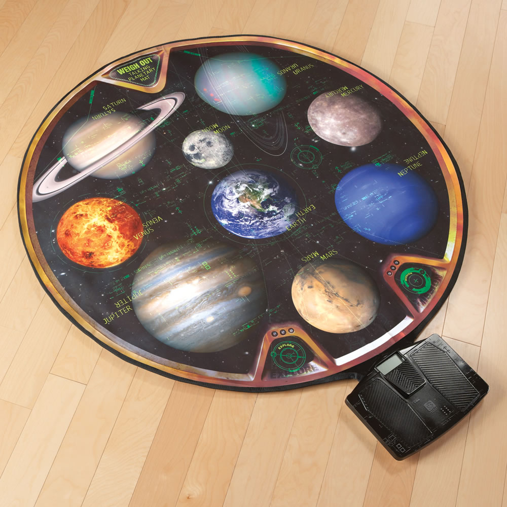 The Talking Teaching Solar System Scale5