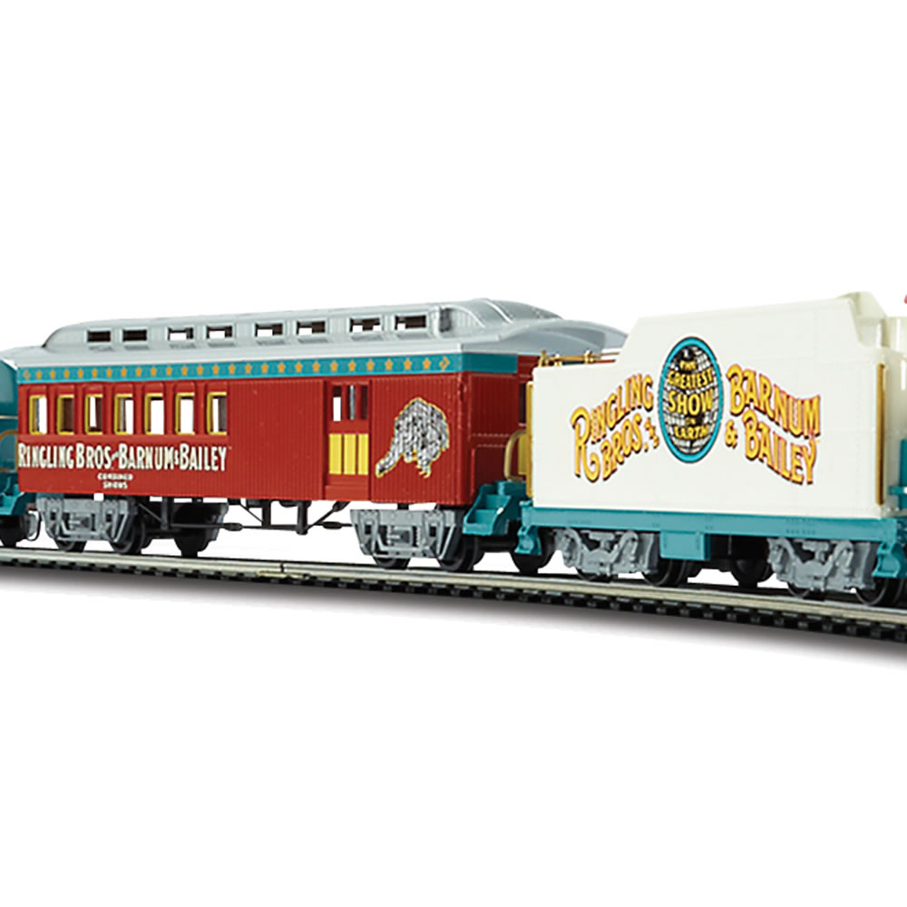 The Ringling Brothers Circus Train Set 3
