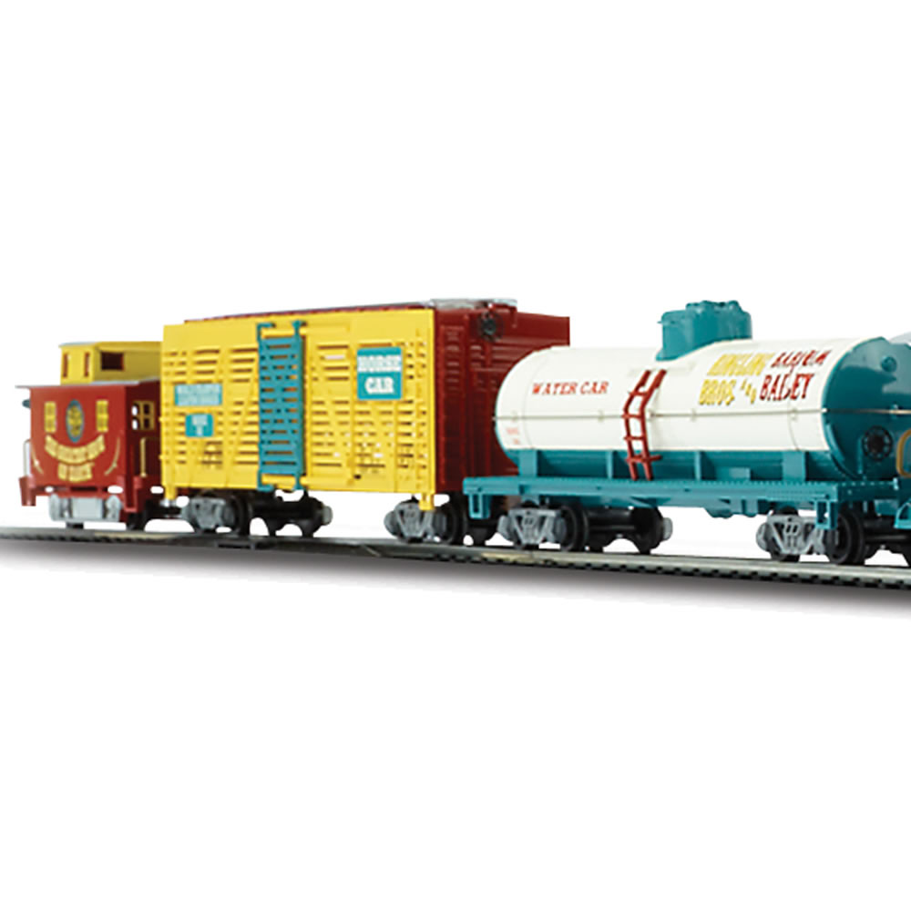 The Ringling Brothers Circus Train Set 4